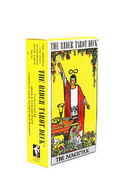 The Rider Tarot Deck (Райдера) желт